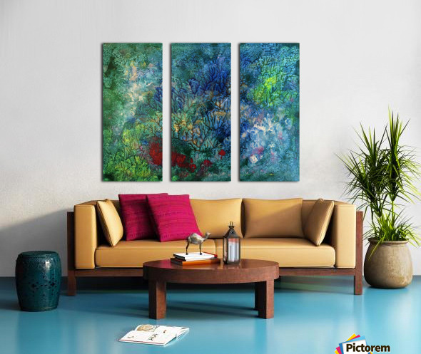 The Reef Split Canvas print
