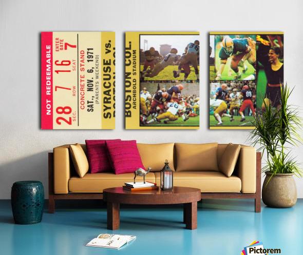 syracuse university gift ideas for college alumni Split Canvas print