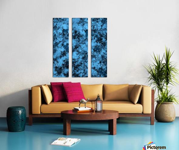 Singular Split Canvas print