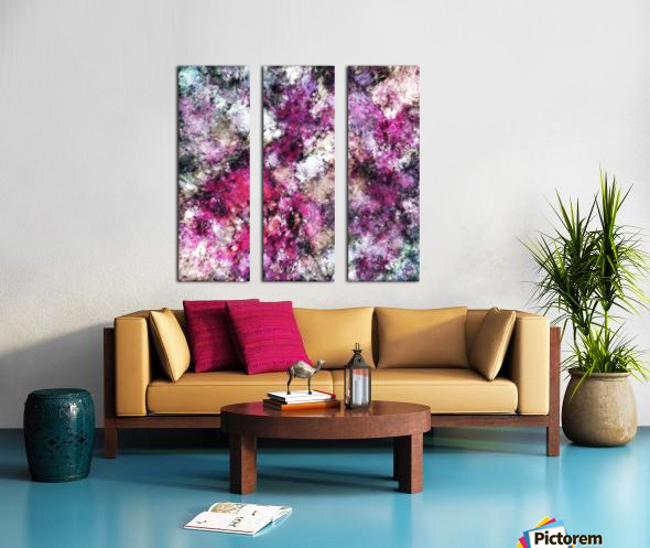 Unexpected visitor Split Canvas print