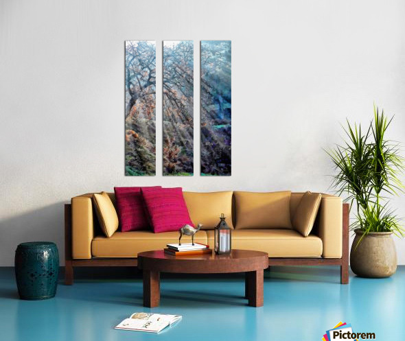 Hope Shines With The Sun Split Canvas print