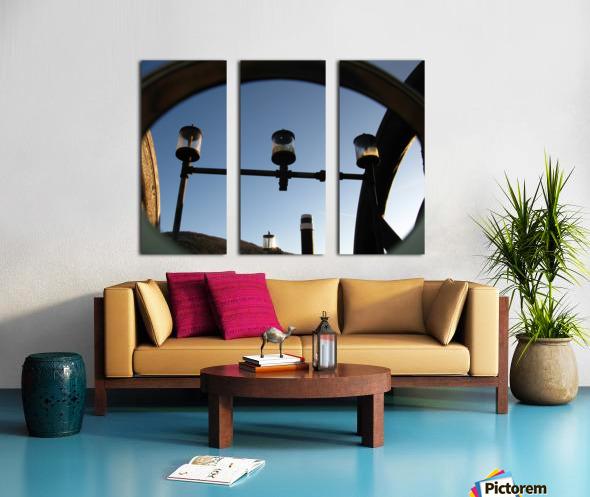 Perculating Dreams Split Canvas print