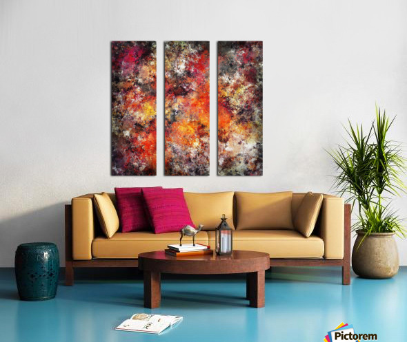 Workhorse Split Canvas print