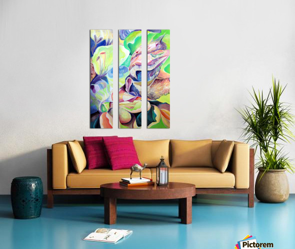 Realm of Exotic Nature  Split Canvas print