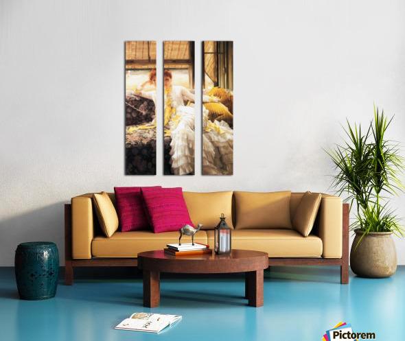 July by Tissot Split Canvas print