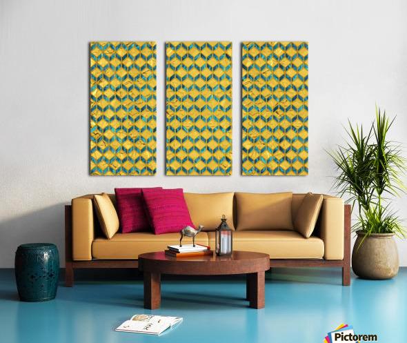 Geometric  XXXXX  Split Canvas print