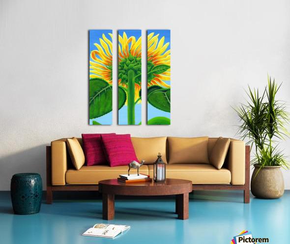 Sweet Song of Summer Split Canvas print