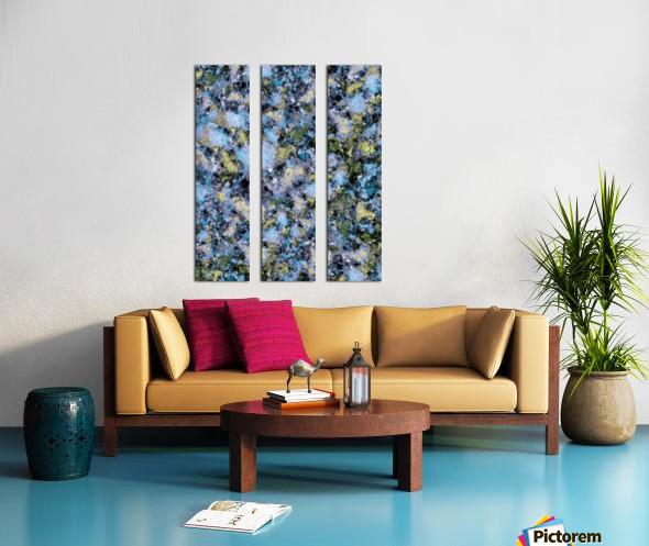 Glance Split Canvas print