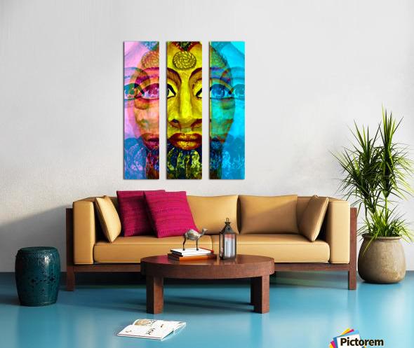 Ancient Egyptian Goddess  Split Canvas print