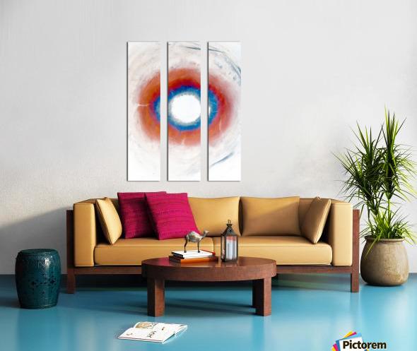 Glimpse of Black Hole No.4 Split Canvas print