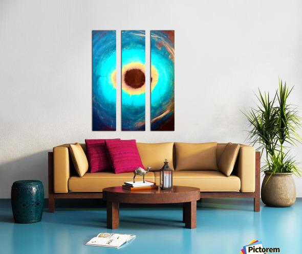 Glimpse of Black Hole No.3 Split Canvas print