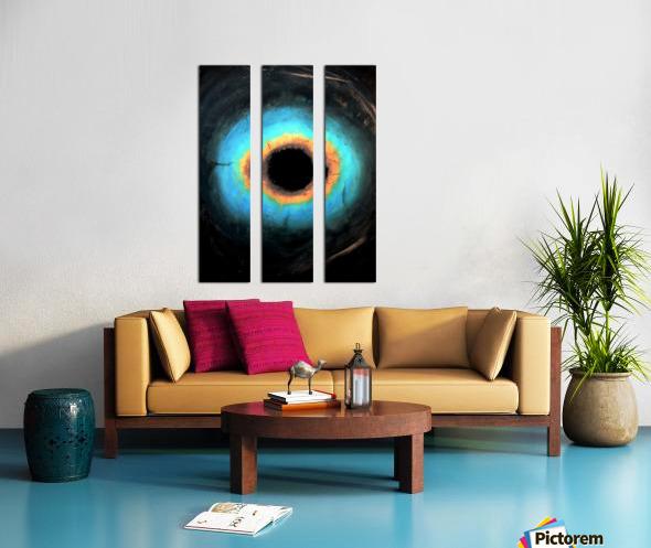 Glimpse of Black Hole No.2 Split Canvas print