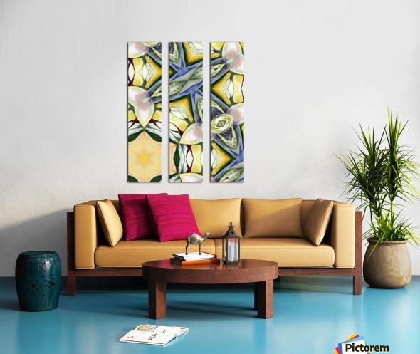 Artdeco structural a  Split Canvas print