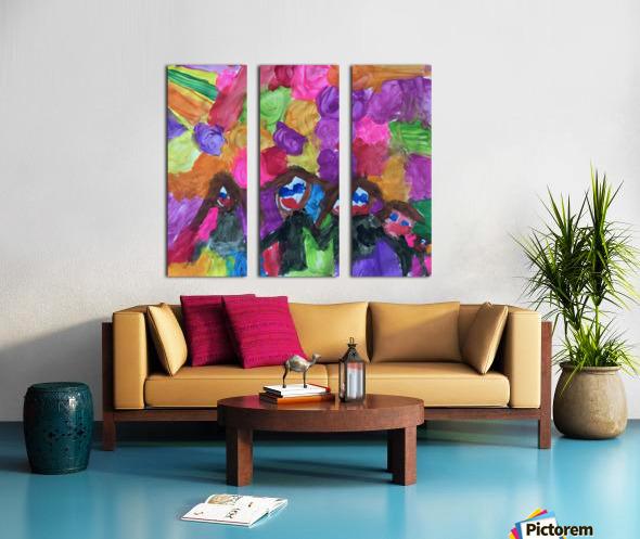 Nola family Split Canvas print