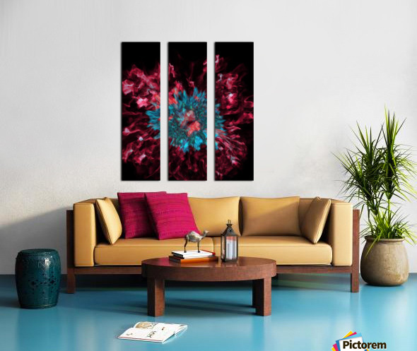 Encounter With A Moment Split Canvas print