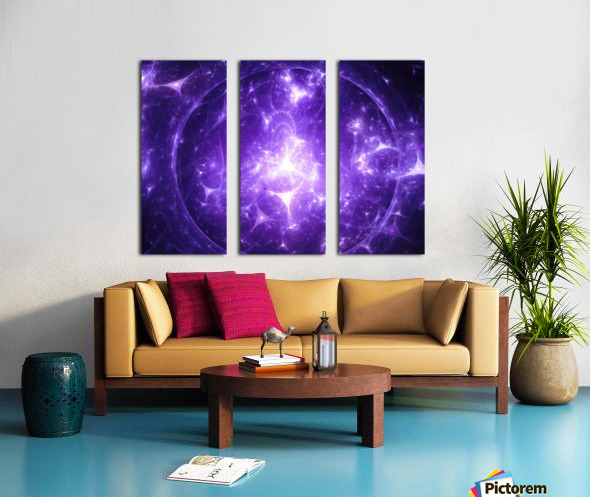 Beyond time Split Canvas print