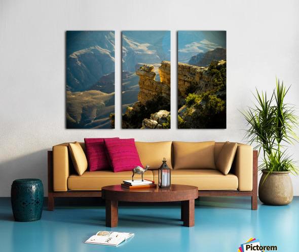 Grand Canyon South Rim Split Canvas print