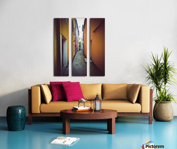 Alleyway Split Canvas print