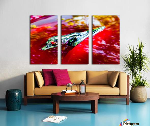 The Monarchs Lion Split Canvas print