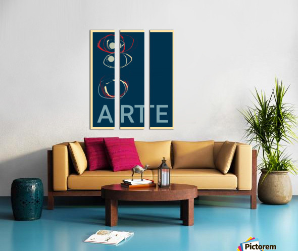 ARTE -2  Split Canvas print