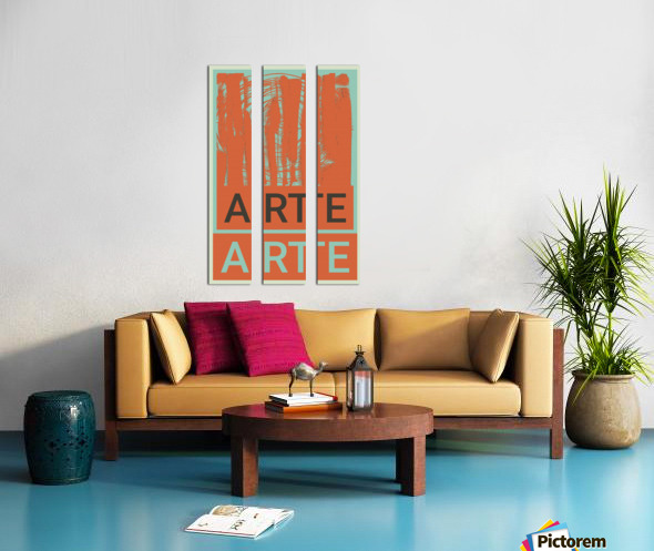 ARTE -3  Split Canvas print