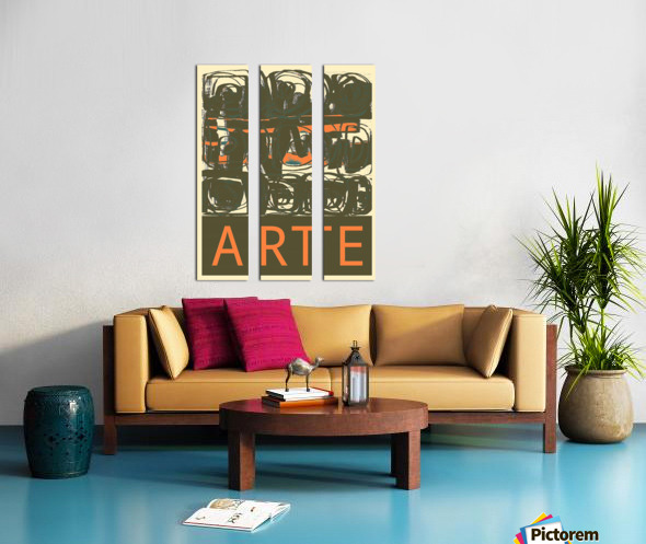 ARTE -6  Split Canvas print