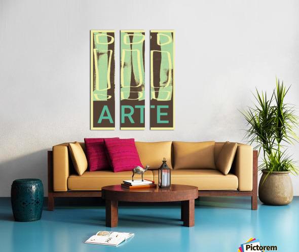 ARTE -13  Split Canvas print