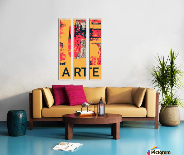 ARTE -17  Split Canvas print