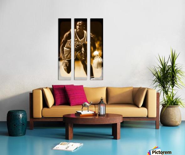 1984 michael jordan usa olympic basketball team Split Canvas print