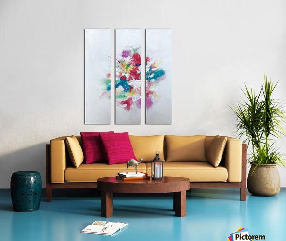 Flower bouquet Toile Multi-Panneaux
