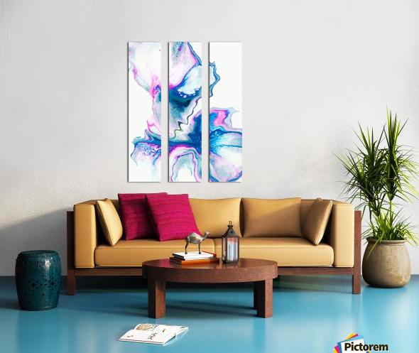 Flower Bomb Split Canvas print