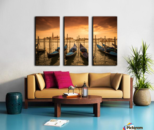 Venise Split Canvas print