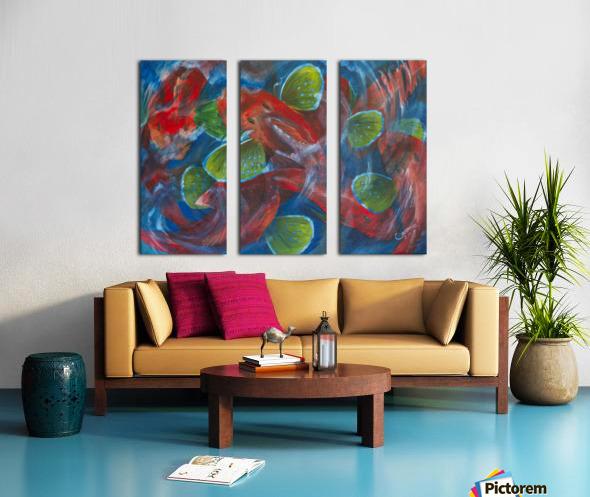 Sea Robins Split Canvas print