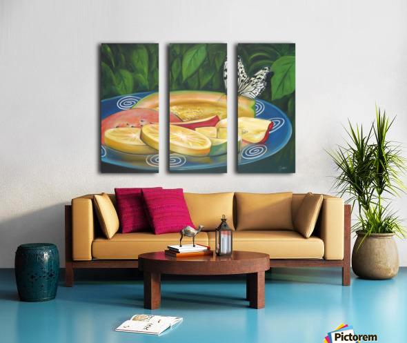 feast Split Canvas print