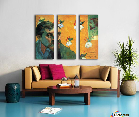 Les Miserables by Gauguin Split Canvas print