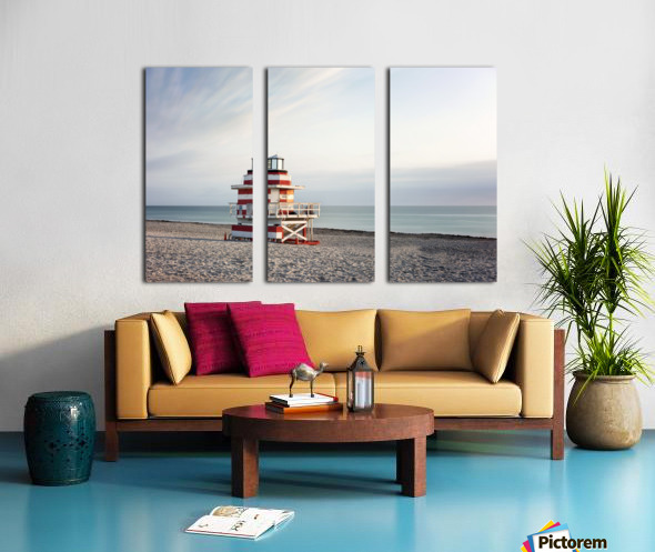 Miami Beach 029 Split Canvas print
