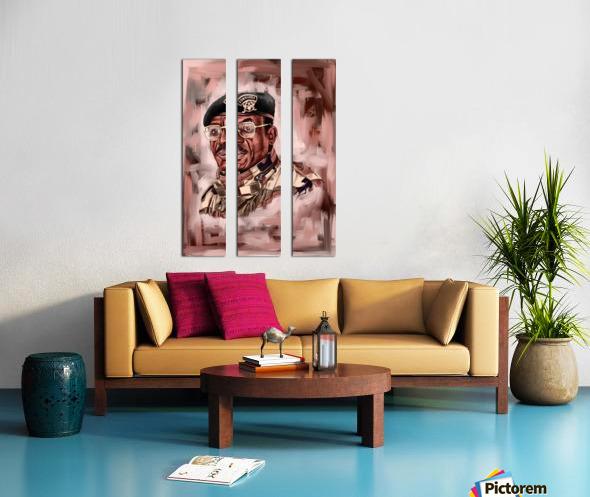 Outgone  Split Canvas print