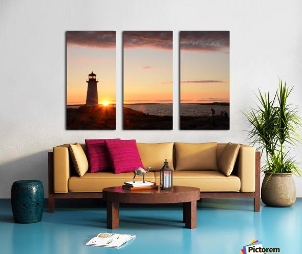 Light House  Split Canvas print