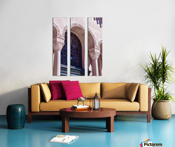 Foster Memorial Window Split Canvas print