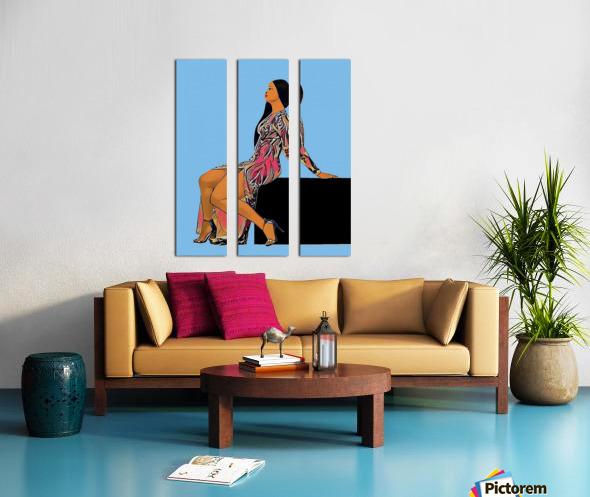 Wishlist Split Canvas print