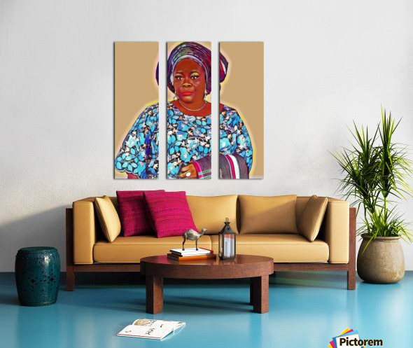 Sholingaye Split Canvas print