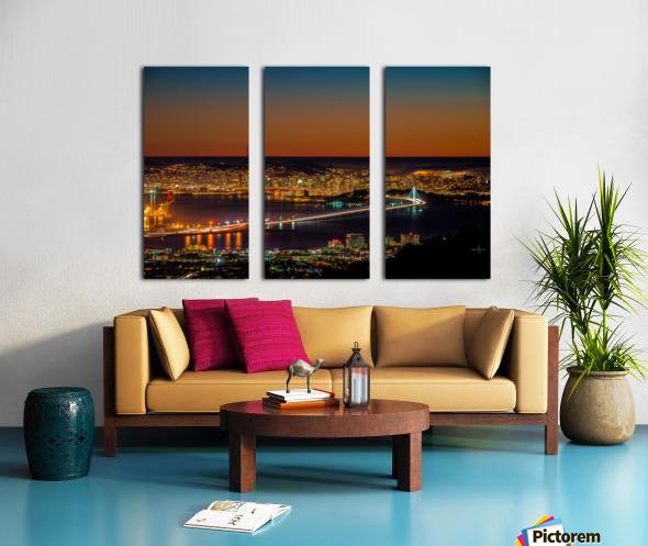 City to City - Berkeley to San Francisco Split Canvas print
