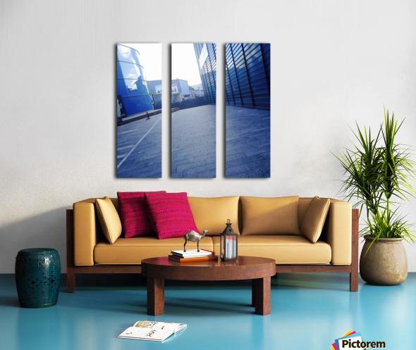 landspace Split Canvas print