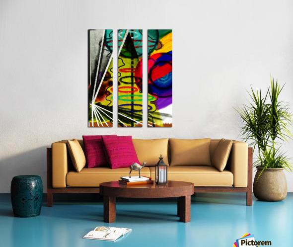 Creating Life Split Canvas print