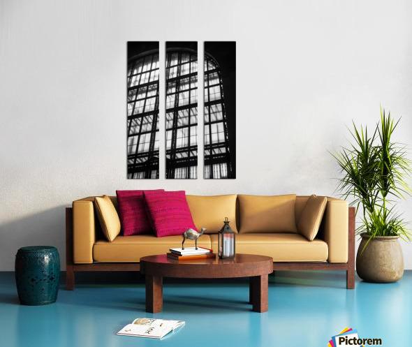 Between Dimensions Split Canvas print