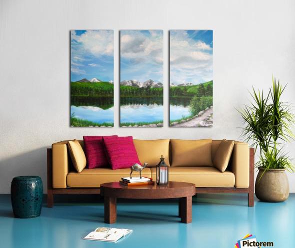 Sprague Lake CO Split Canvas print