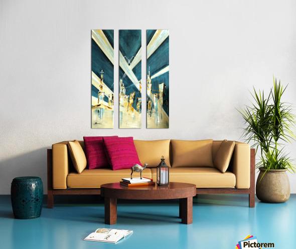 Metropolis I Split Canvas print