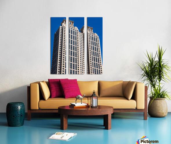 191 Peachtree Tower   Atlanta GA 6969 Split Canvas print