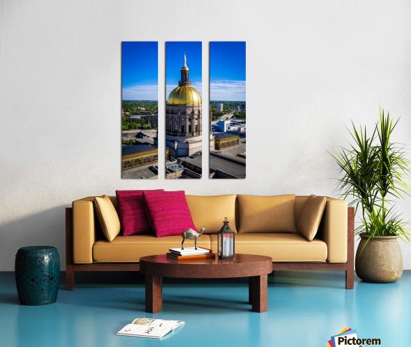 Georgia State Capitol Building   Atlanta GA 0636 Split Canvas print