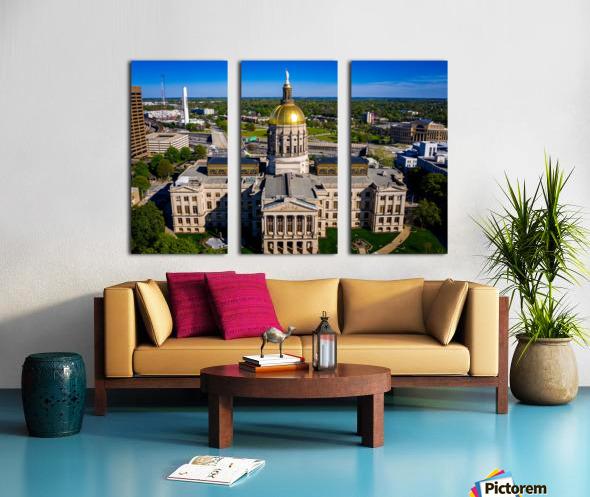 Georgia State Capitol Building   Atlanta GA 0639 Split Canvas print